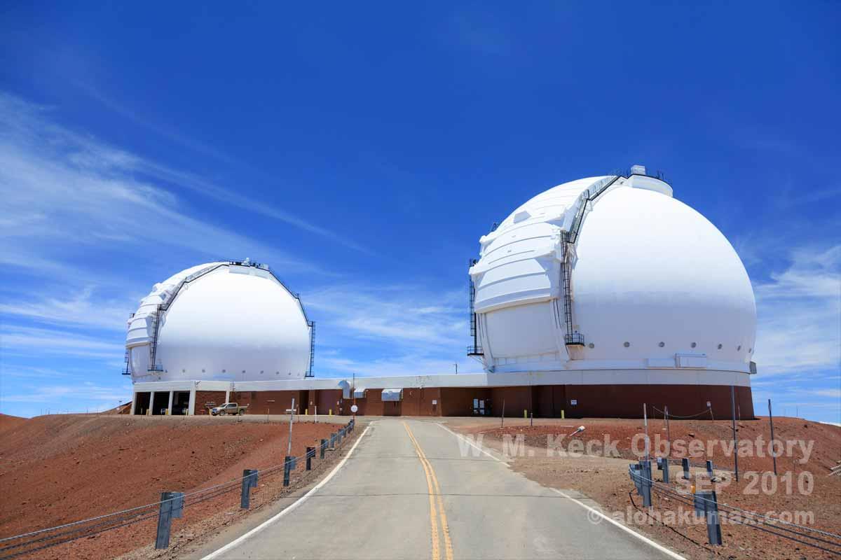 W.M.ケック天文台へ