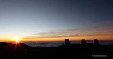 山頂の夕陽とプウ・ベキウ » 夕暮れ時の見どころ / マウナ・ケア ハワイ島