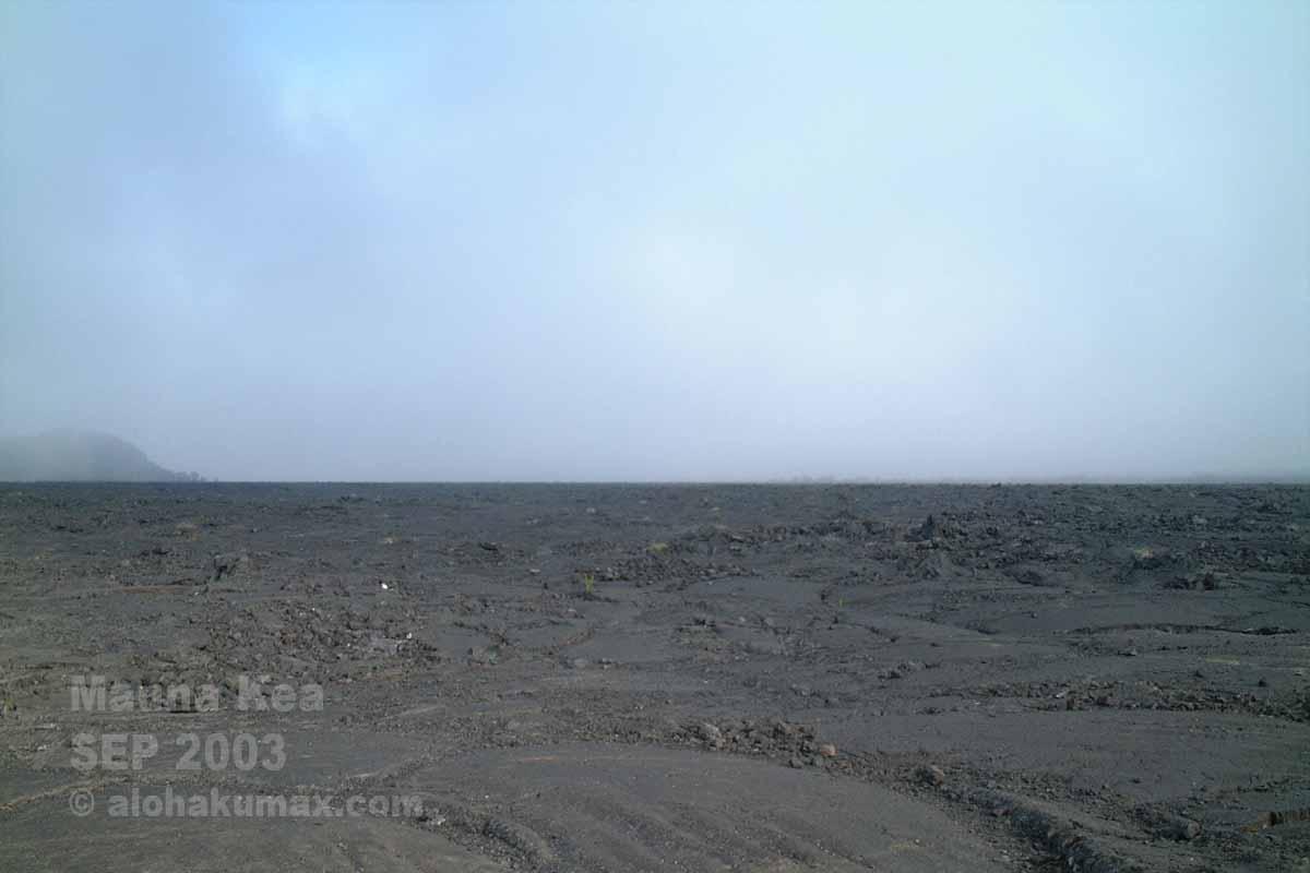 マウナロアの溶岩