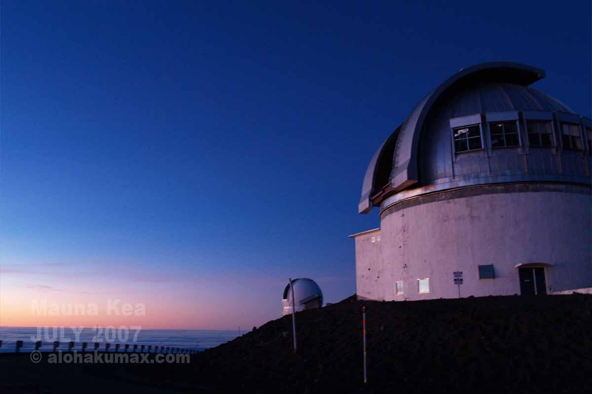 イギリスの望遠鏡「UKIRT」