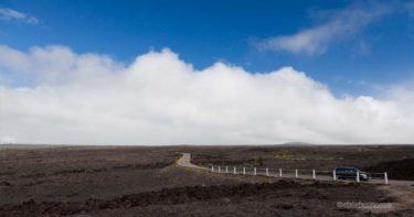 ムリワイ・ア・ペレ » 黒い溶岩の川の上に建つ展望台 / キラウエア火山(チェーン・オブ・クレーターズ・ロード) ハワイ島