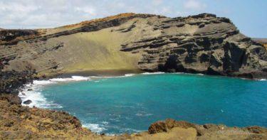 パパコレア・グリーン・サンド・ビーチ » ハワイ島の幻のビーチ!オリーブ色が美しい