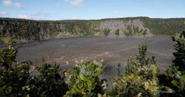 プウ・プアイ展望台 » キラウエア・イキ火口を見下ろす / ハワイ島 キラウエア火山