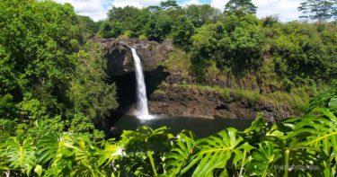 レインボー・フォールズ(レインボー滝) » 虹が架かる滝! / ヒロ ハワイ島