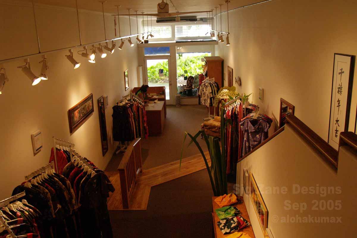引っ越し前(2005年当時)の店内