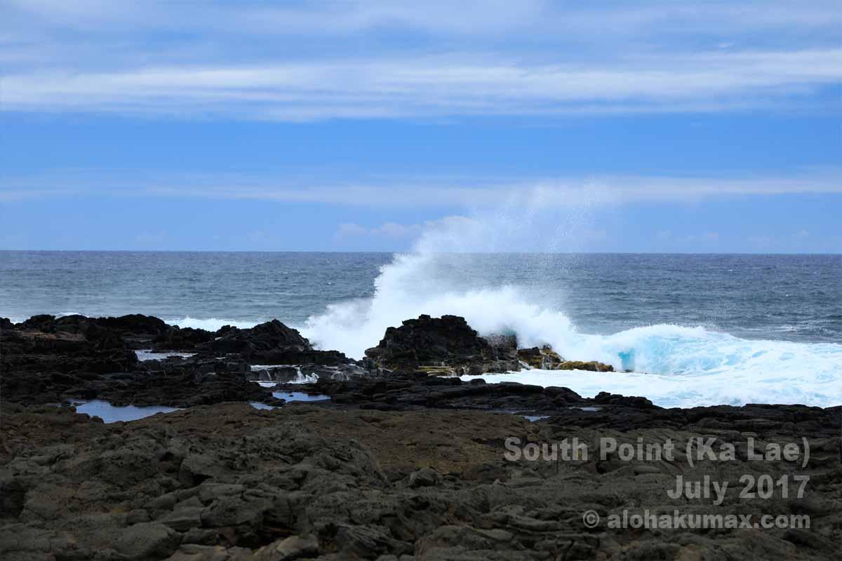 最南端の海