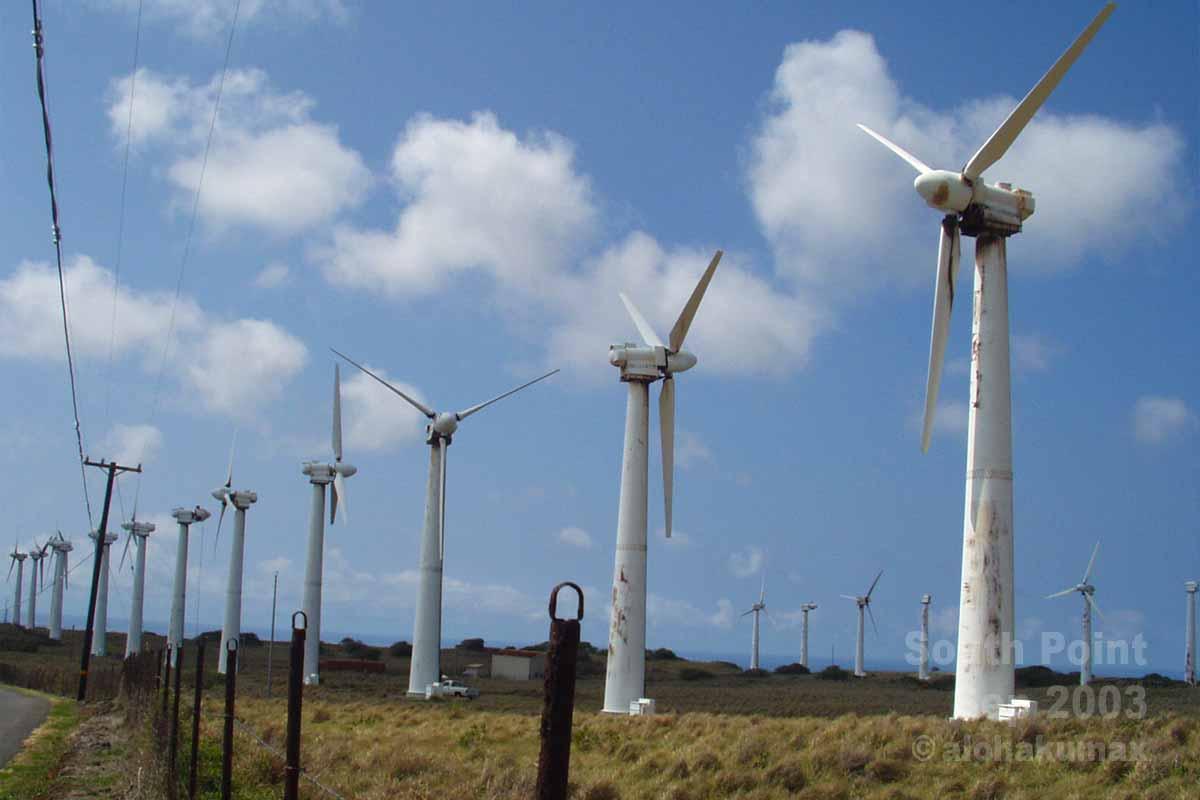 三菱重工製の風車