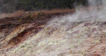 サルファー・バンクス・トレイル » 水蒸気モクモク&硫黄の匂い漂う穴場トレイル / キラウエア火山 ハワイ島