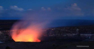 [無期限閉鎖] トーマス A・ジャガー・ミュージアム » ハレマウマウの溶岩と火映は忘れられない景色 / キラウエア火山 ハワイ島