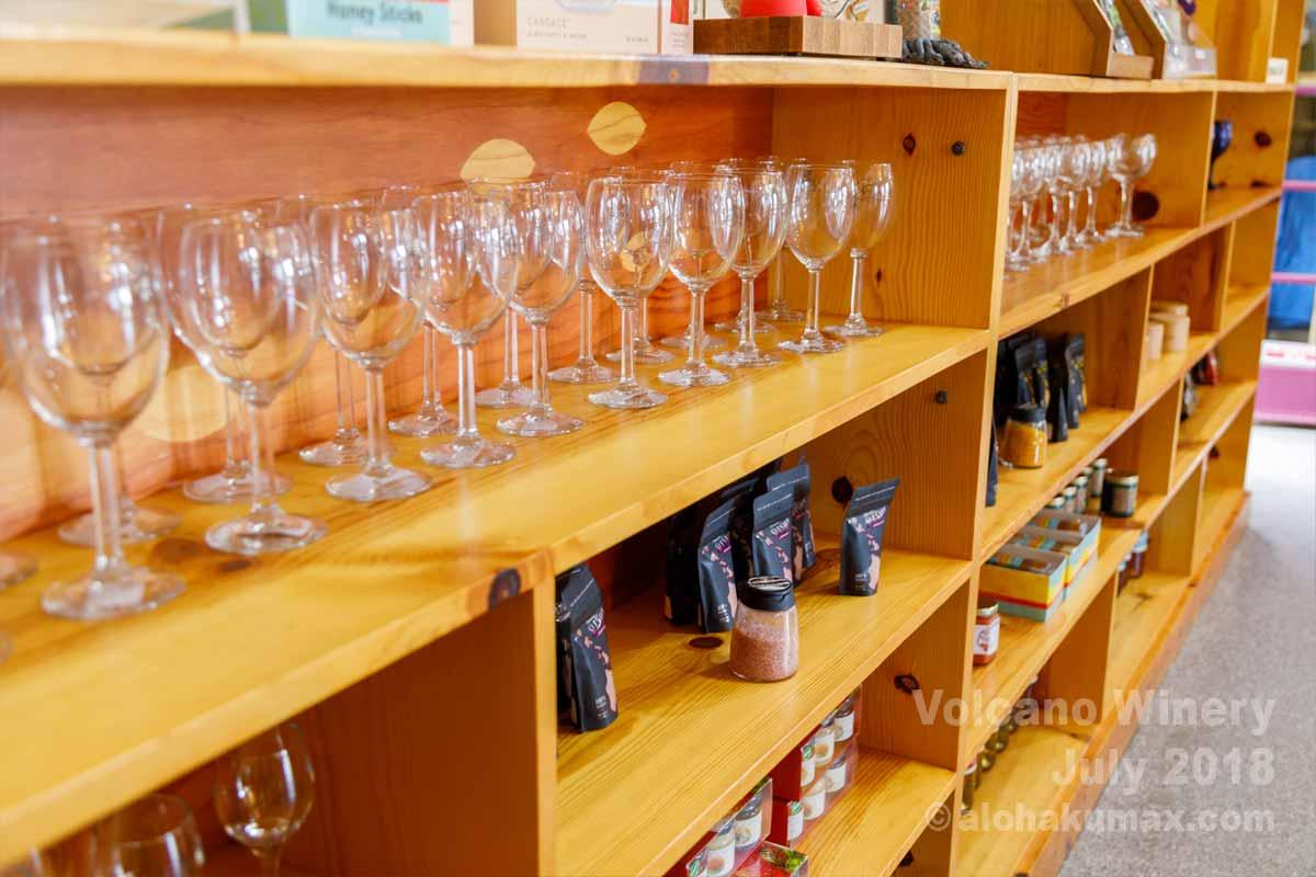 オリジナルのワイングラス