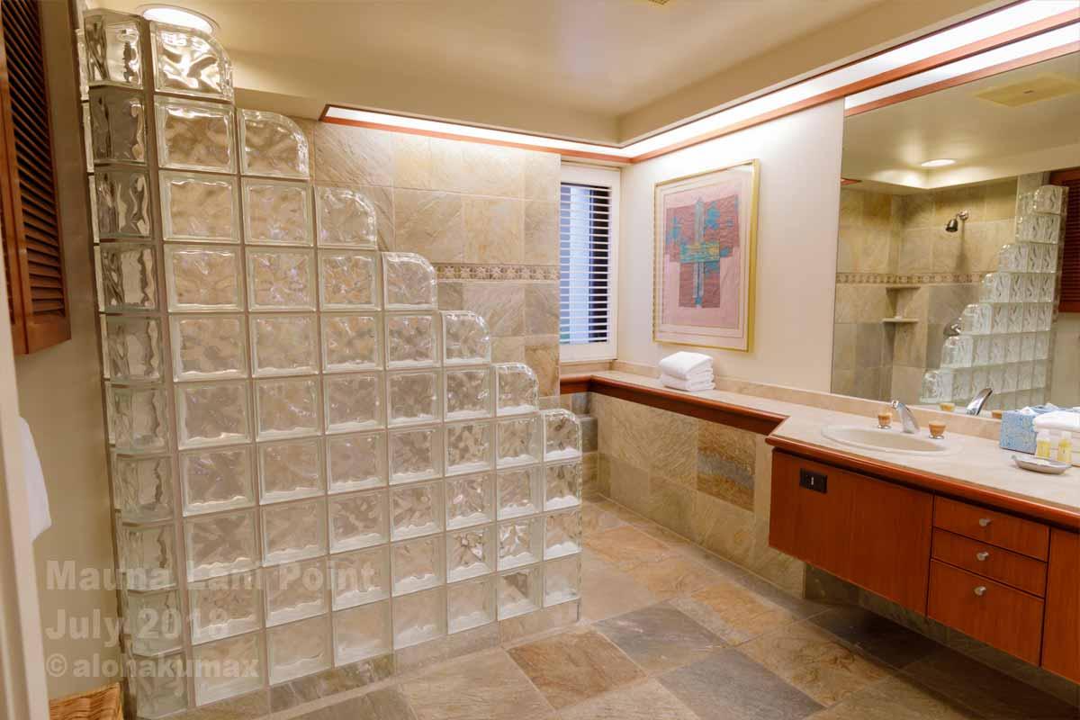 バスルーム、広し