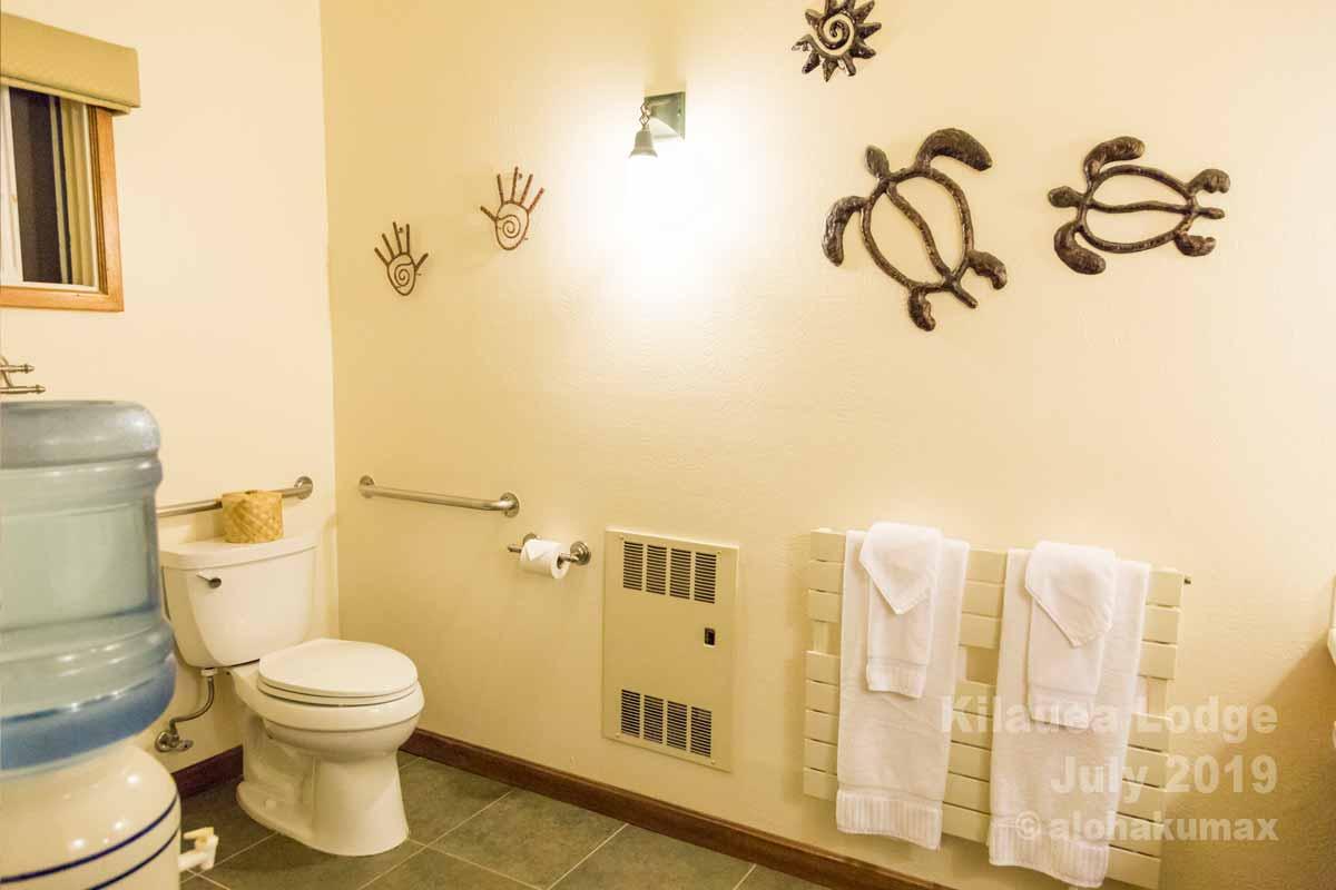 広いバスルーム