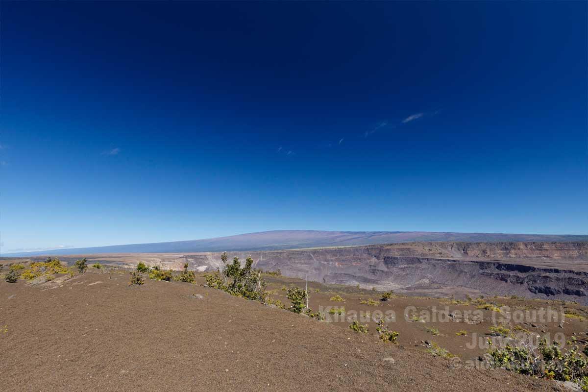 カルデラ南の絶景スポット