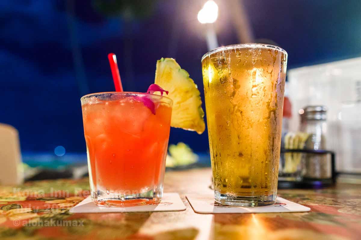 ハワイアン・パンチ & コナ・ビール